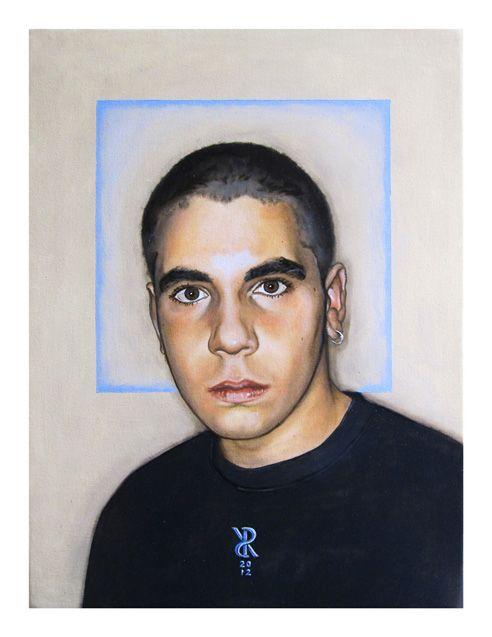 Riccardo_Soloperto/ Federico - Oil on canvas - 30cmx40cm