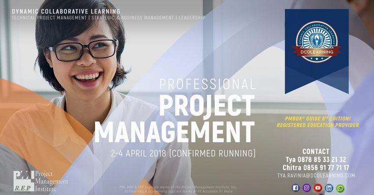 Professional Project Management Training, Jakarta   #professional #project #management #jakarta #april #2018