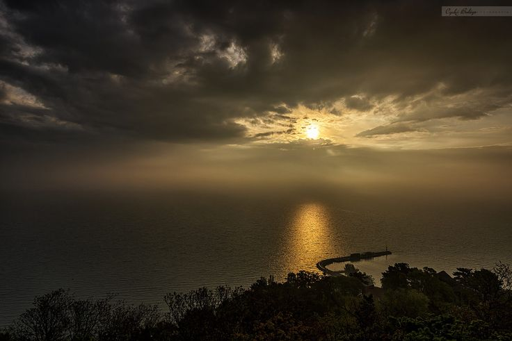 Sunrise at the lake Balaton by Czakó Balázs on 500px