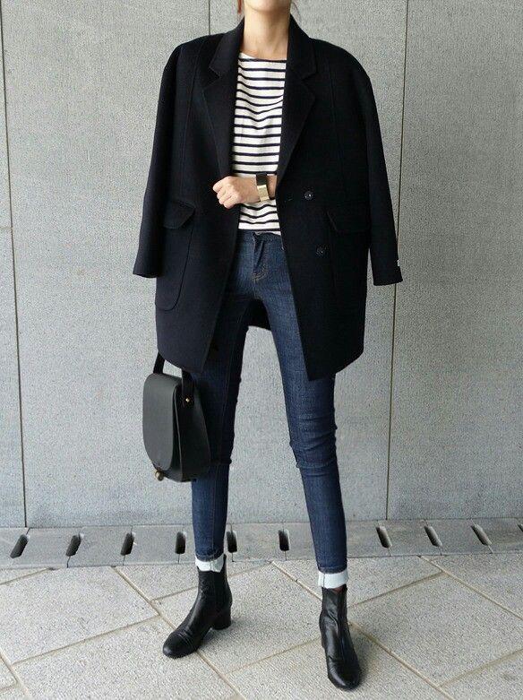 Layers #winter #winteroutfits #coat #win…