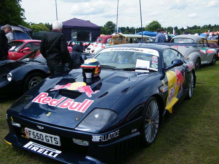 Is this a Ferrari???? No its a Ferrari replica, made using an MR2, This club are at the tatton classic every year and have some stunning looking Ferrari replicas.