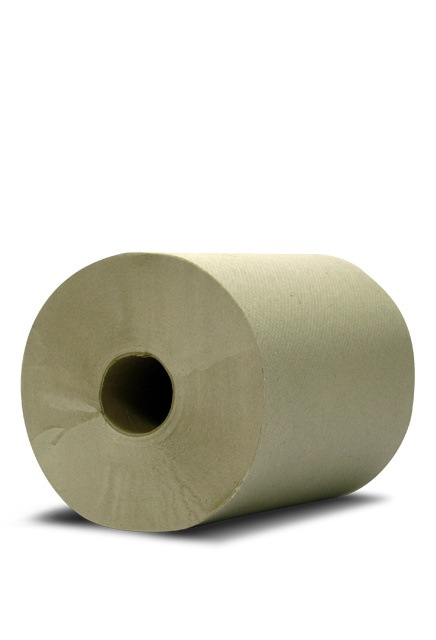 Tork universal, 600' Hand roll towel brown: 12 rolls of 600' Hand Roll towel brown