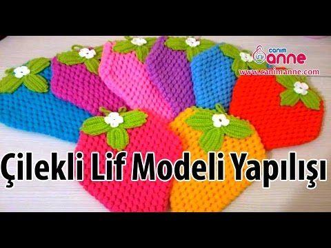 Çilekli Lif Modeli ve Yapılışı - YouTube