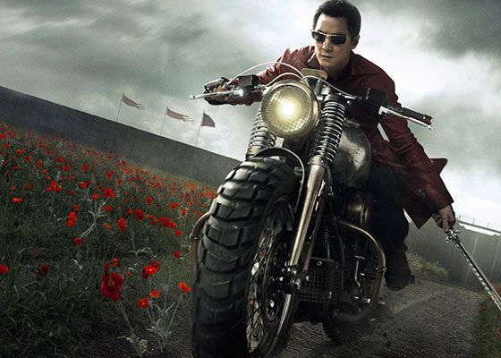 AMC's 'Into the Badlands' - Sunny (please exceed my unreasonable expectations ) Cool Bike beginning with the front end springs, and massive tire