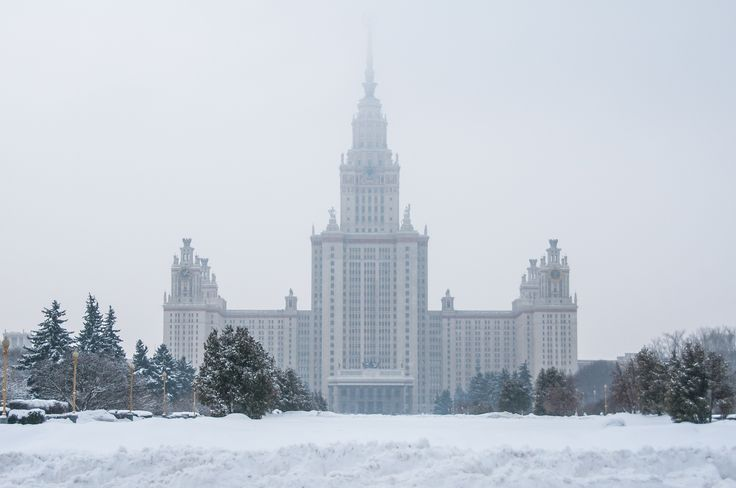 Москва: Гла́вное зда́ние МГУ, Ломоносов, 1953 by Graziella Serra Art & Photo on 500px