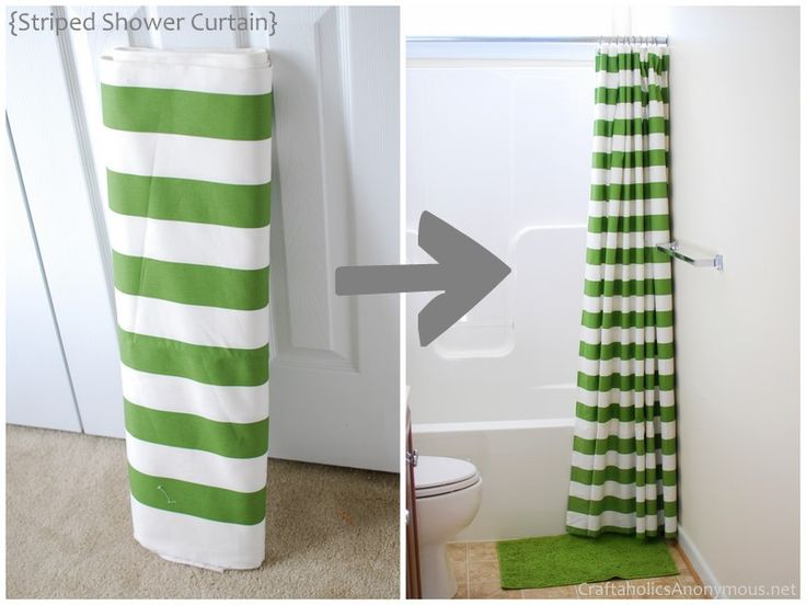 shower curtain diy, home decor, do it yourself, you don't have to be limited to what you find in the bathroom section at Target!