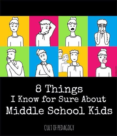 8 Things I Know for Sure About Middle School Kids   Cult of Pedagogy