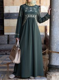 Sumayyah Embroidered Dress
