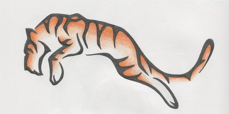 Tiger Tattoo Design by ~lmai on deviantART