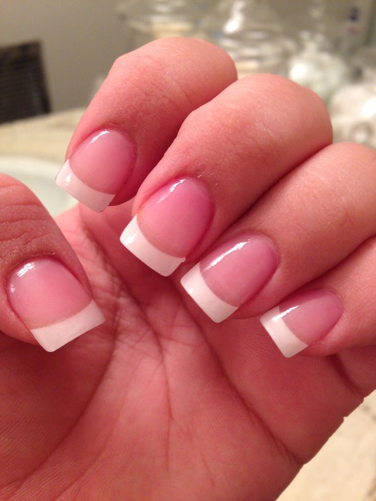 best 25 french tip acrylics ideas on pinterest