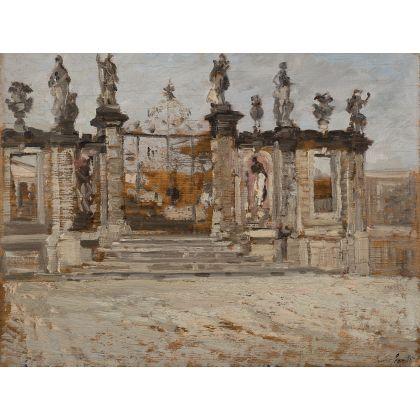 Emma Ciardi Il Ponte Casa D'Aste ingresso della villa