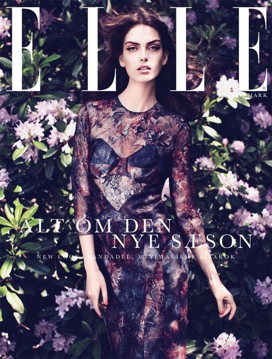 Elle Fashion Magazine Cover                                                                                                                                                                                 More