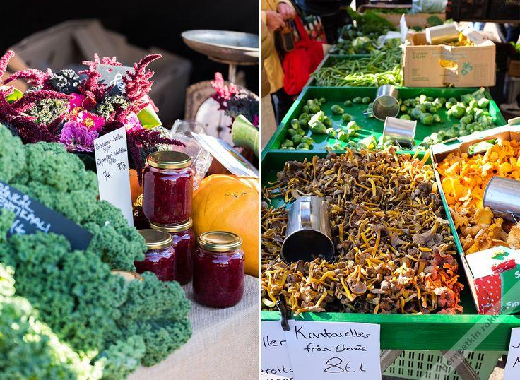 Herneetkin rokkaa.: Slow Food Festivaalit Fiskarsissa