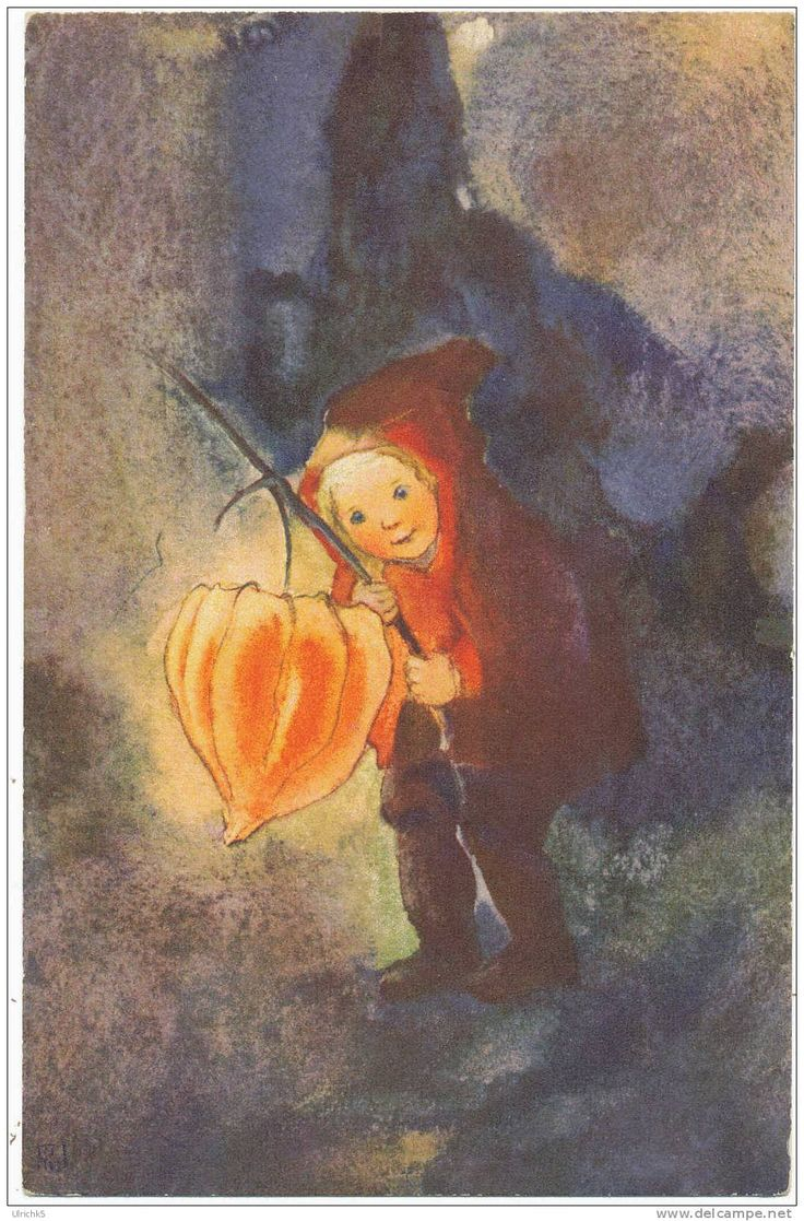 Chinese Lantern, illustration by Mili Weber (1891-1978)