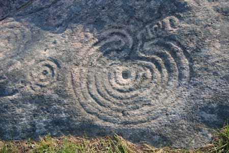 GARDNER: The Mogor labyrinth in Galicia, Spain is the oldest one we know of so far - 2000 BCE.