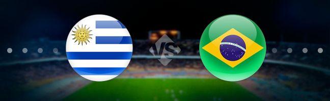 Уругвай - Бразилия. Прогноз на матч 24.03.2017 http://ratingbet.com/prognoz/all/4719-urugvay-braziliya-prognoz-na-match-24032017.html   Бесплатный прогноз на матч Уругвай - Бразилия, который состоится 24 марта 2017