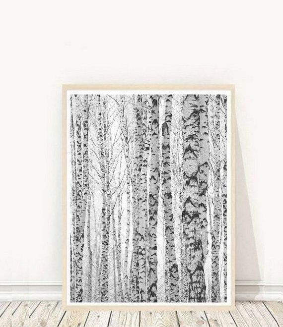 Impression d'Art abstrait, arbre imprimer, Printable Art, Art minimaliste, arbres scandinave, Photo arbre, arbre Art, Téléchargement instantané, décoration murale,