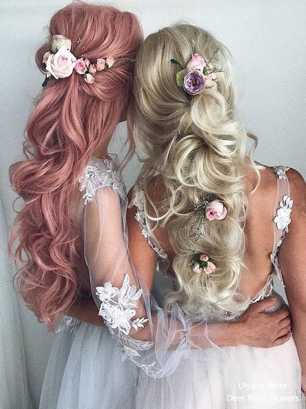 20 Beautiful Wedding Hairstyles From Ulyana Aster Wedding