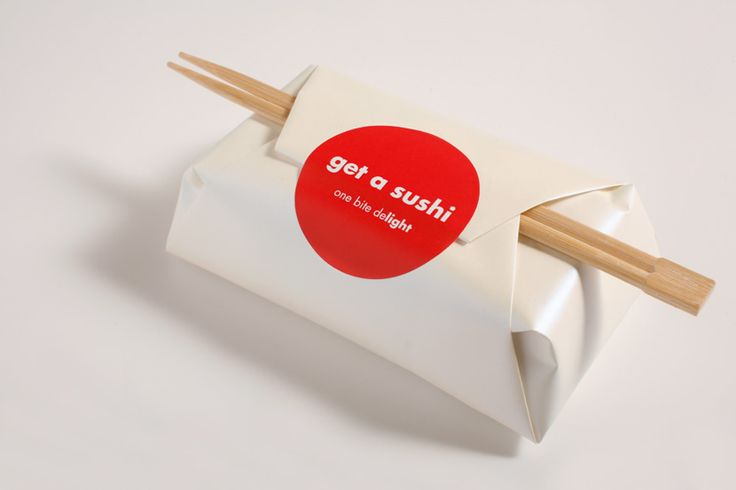 #Packaging | Get A Sushi