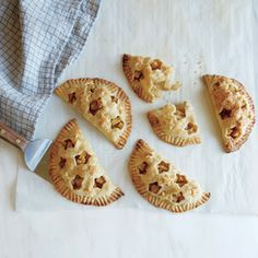 Apple Hand Pies | MyRecipes.com Try Ateco 12-piece aspic cutters to make tiny, decorative steam vents. $9, amazon.com