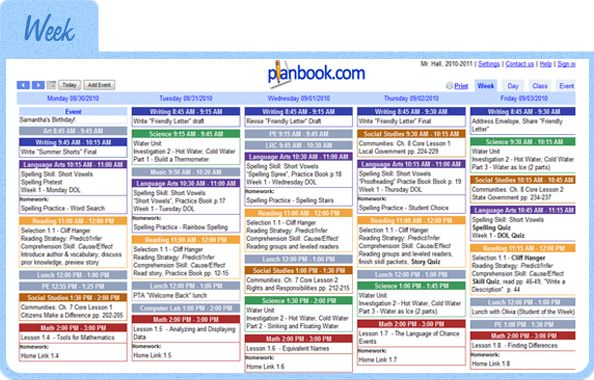 Planbook.com - Online Teacher Lesson Planning; In addition to Common Core State Standards, we've added Science and Social Studies standards for Illinois, Florida, and North Carolina! We also added the ISTE Student Technology Standards. Keep watching, many more state standards to follow!