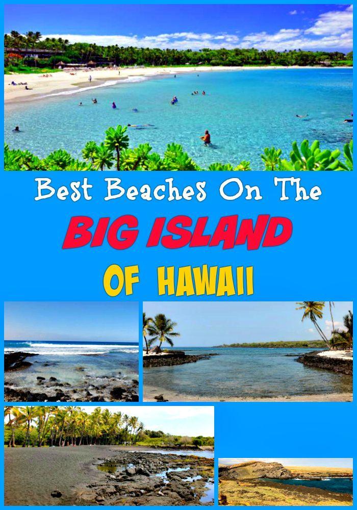 Best Big Island beaches to visit: Punalu'u Black Sand Beach Park, Honaunau Bay, Anaeho'omalu Bay, South Point (Ka Lae) and Green Sand, Hapuna, Manini'owali, Mauna Kea, 49 Black Sand, Anaeho'omalu, Makalawena/Pu'u Ali'i