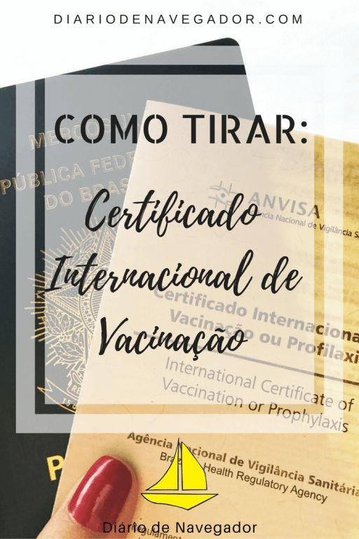 Confira o passo a passo de como tirar o Certificado Internacional de Vacinação, que é obrigatório para muitos países e viaje tranquilo!