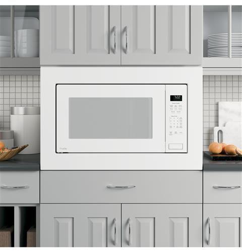 Ge Profile Series 2 2 Cu Ft Built In Sensor Microwave Oven Model Peb7227dlww Built In Microwave Countertop Microwave Microwave In Kitchen