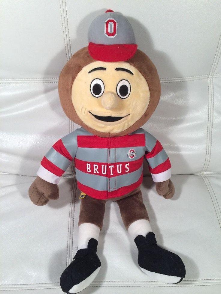 Osu The Ohio State University Brutus Buckeye Mascot 22