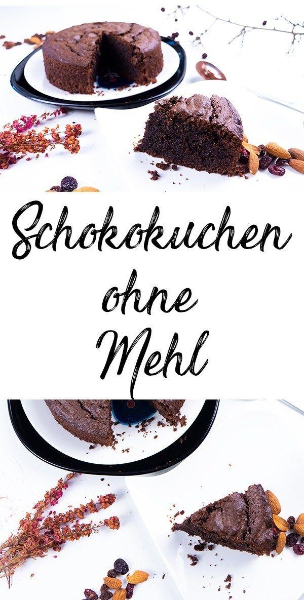 Schokokuchen ohne Mehl – saftig und fluffig – German Blogger *Food*