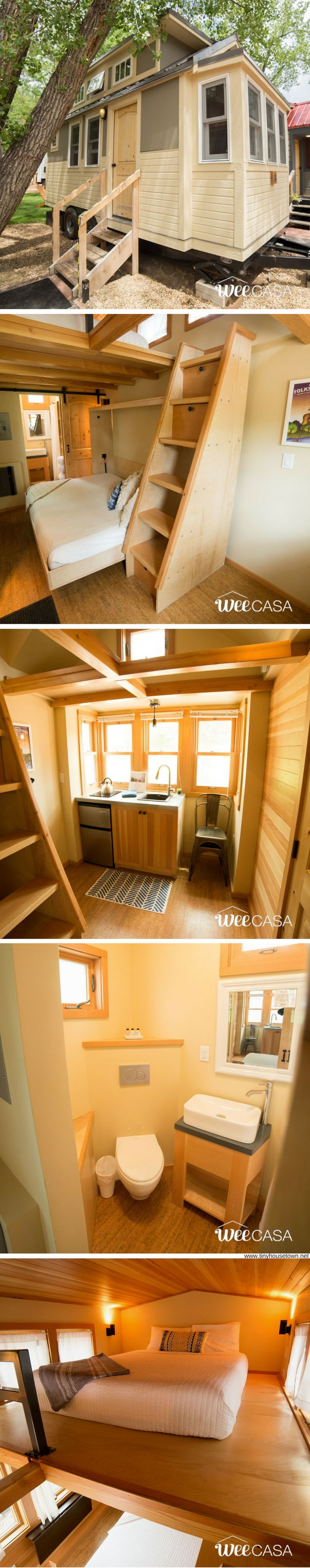 The Roaring Fork Aspen Tiny House (170 Sq Ft) yes! Love this one. Very clean.