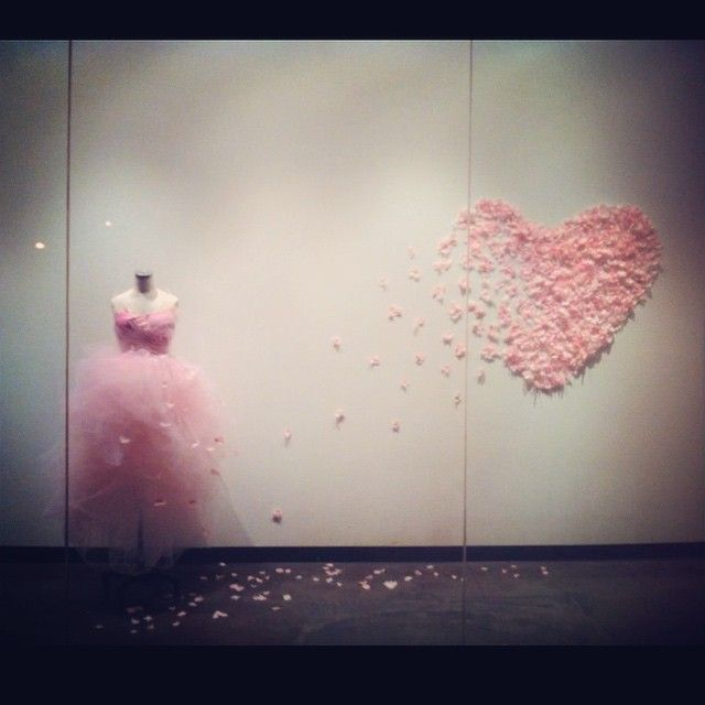 """MOOD DESIGNER FABRICS,(Project Runway),""""Anyone can catch your eye,but it takes someone special to catch your heart"""", pinned by Ton van der Veer"""