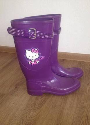 Kupuj mé předměty na #vinted http://www.vinted.cz/damske-boty/holinky/9904214-holinky-fialove-hello-kitty