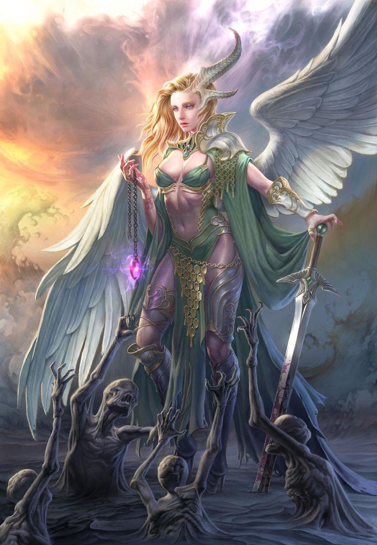 Картинки ангел воительница