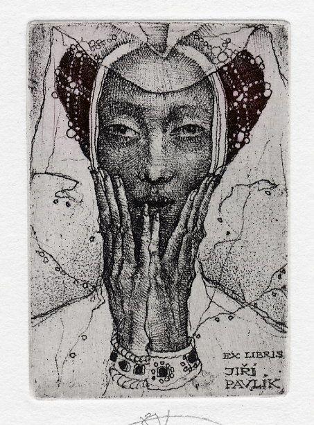 ≡ Bookplate Estate ≡ vintage ex libris labels︱artful book plates - Marina Richter