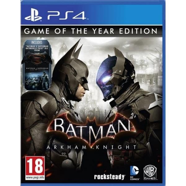 Batman Arkham Knight Game Of The Year (GOTY) PS4 Game | http://gamesactions.com shares #new #latest #videogames #games for #pc #psp #ps3 #wii #xbox #nintendo #3ds