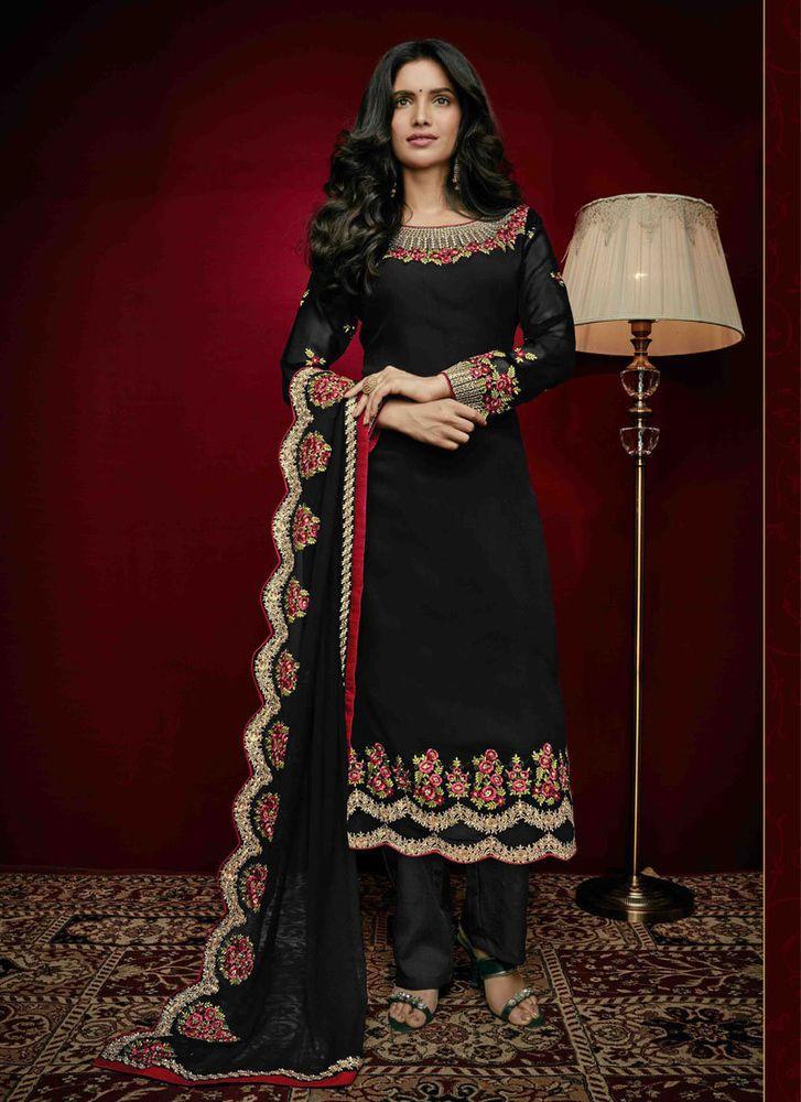 Anarkali Pakistani Indian Salwar Kameez New Suit Dress Bollywood Designer Ethnic #TanishiFashion #Designer