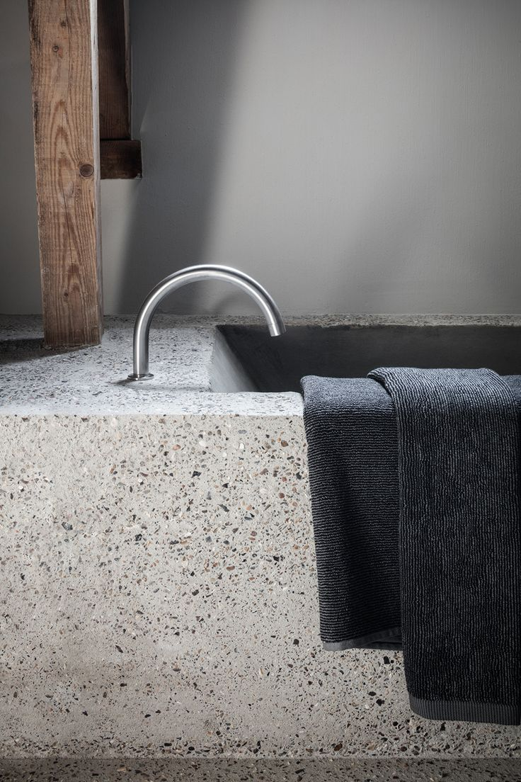 Bathroom - B&B The Bunkers in Knokke Belgium by Govaert & Vanhoutte Architects