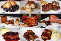 Recetas de Navidad, carne y pescado