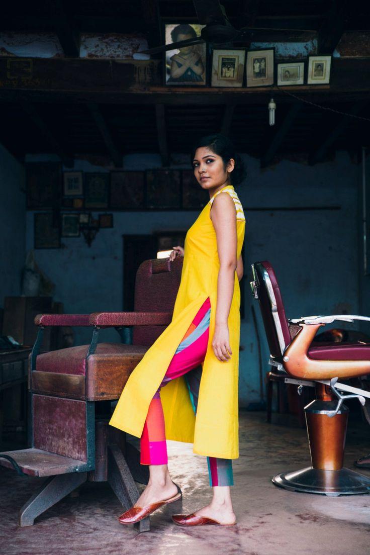 Manjal Theyyam Kurta