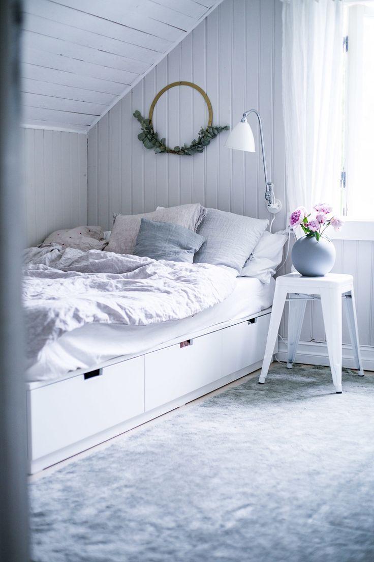 Nordli Bett Zum Gastezimmer Catwind Bett Catwind Gastezimmer Nordli Zum In 2020 Ikea Bed Ikea Bed Hack Best Ikea