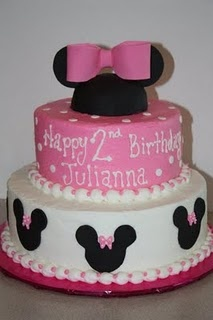 mickey mouse cake: Cakes Mickey Mouse Parties, Cakes Ideas, Theme Cakes, 1St Birthday, Mickey Mouse Cakes, Minnie Cakes, 2Nd Birthday, Minnie Mouse Cakes, Birthday Cakes