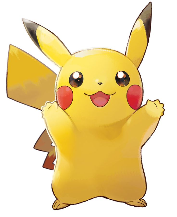 Pikachu Artwork From Pok 233 Mon Let S Go Pikachu And Let S
