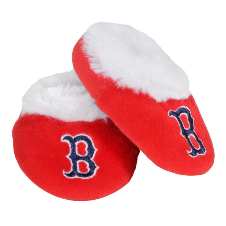 Boston Red Sox Official #MLB Baby Bootie #Slippers