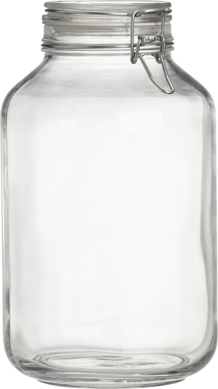 Gallon Glass Jar With Metal Lid