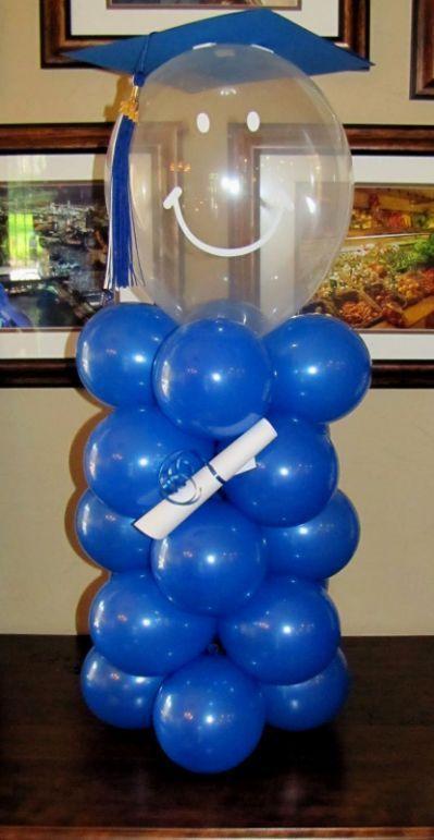 Balloon Decoration Ideas For Graduation - #balloon #decoration #graduation #ideas - #DecorationGraduation