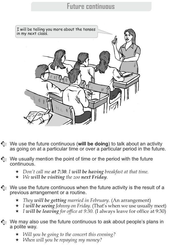 Grade 10 Grammar Lesson 11 Future continuous