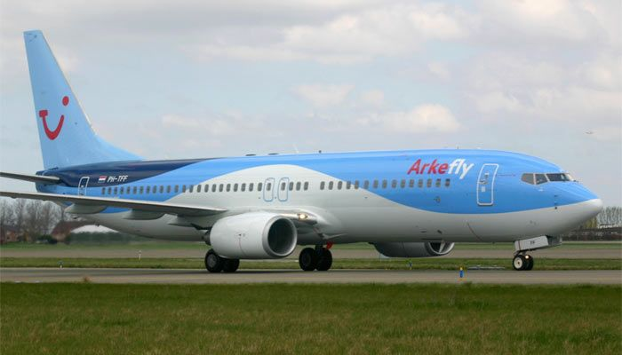 Boeing 737-800 Arkefly