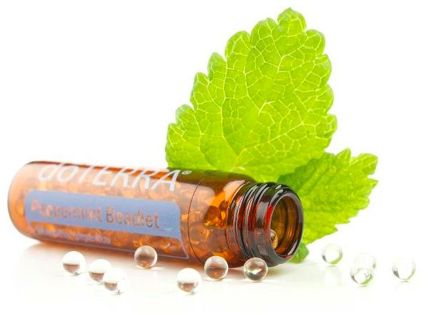 doTERRA's Peppermint Beadlet has brought the popular benefits of peppermint essential oil into the