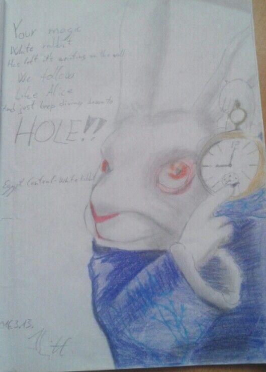 13.3.2016 (Egypt Central - White Rabbit) Alice in Wonderland